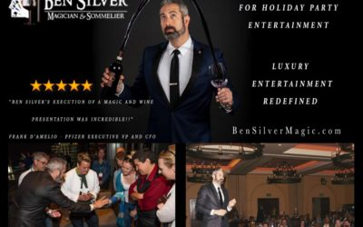 Insider's guide to Booking a Holiday Party Magician